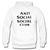 anti social hoodie