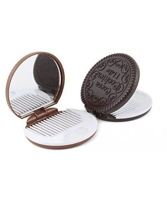 home accessory cookie oreo mirror hair accessory gift ideas hair tumblr hipster it girl shop