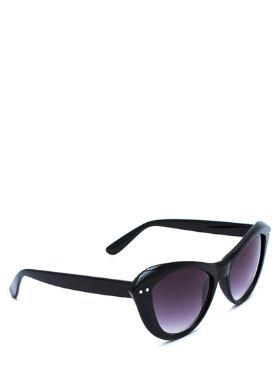 GJ | Miss Kitty Sunglasses $5.00 in BLACKGREY DKTORTOISE TORTOISE - Sunglasses | GoJane.com