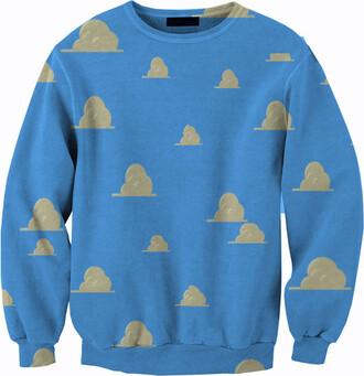 toy story sweater buzz lightyear disney woody toy story sweater all over print disney sweater disney punk all over printed clothing all over printed sweatshirts