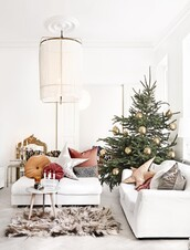 home accessory,home decor,decoration,holiday home decor,living room,sofa,pillow,rug,table,tumblr,christmas,christmas home decor