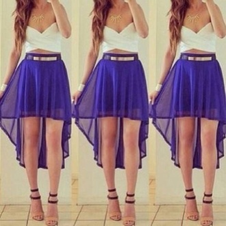 skirt blue cute pretty tumblr girly hipster indie