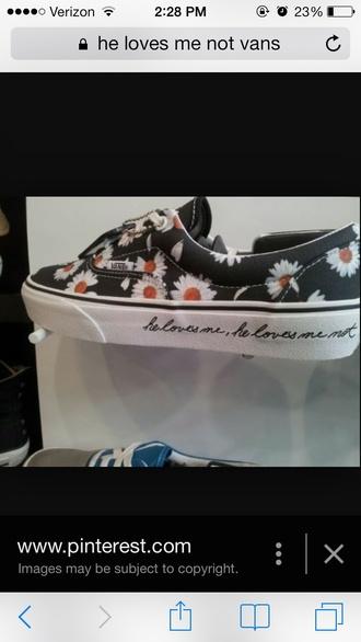 shoes dasiy vans sneakers