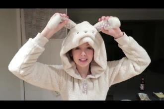 pajamas zoella bunny oncies