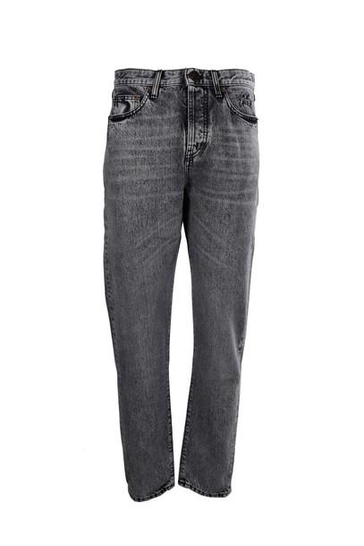 Saint Laurent jeans fit snow black