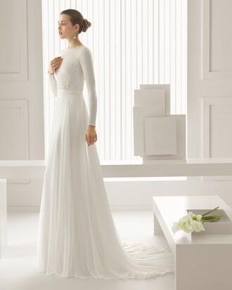 long sleeve dress new landybridal wedding dress