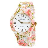 Amazon.com: geneva watch flowers