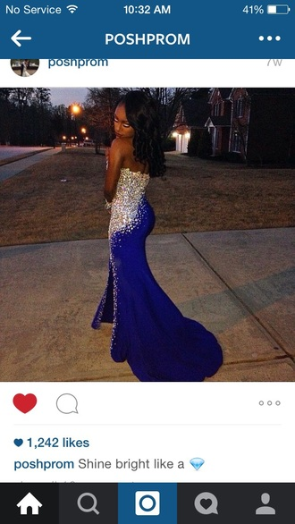 dress royal blue prom royal blue dresses sapphire blue prom dressess sparkle dress 2014 prom dresses mermaid prom dress