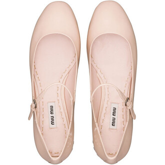 shoes miu miu ballet