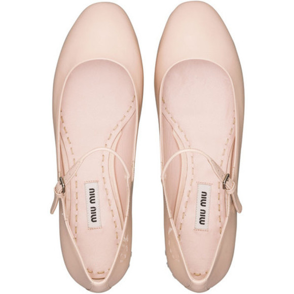 ballet shoes miu miu