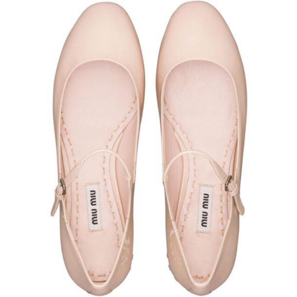 shoes miu miu ballet wheretoget. Black Bedroom Furniture Sets. Home Design Ideas