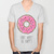 DONUT WORRY BE HAPPY V-neck T-shirt by Sara Eshak | Society6