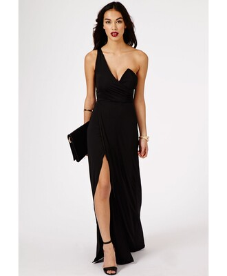 dress elegant maxi one shoulder elegant dress maxi dress