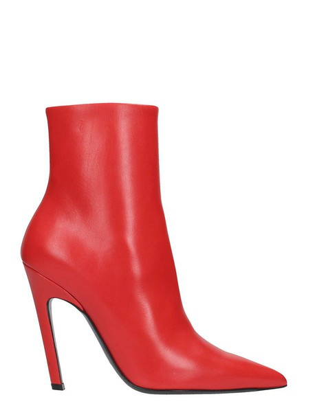 Balenciaga red shoes