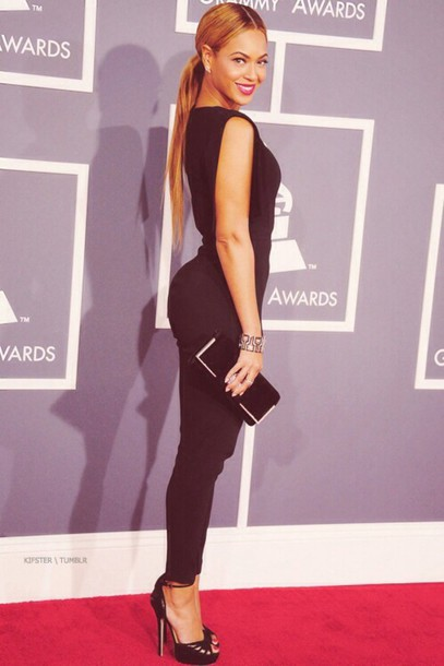 Blouse Beyonce Jumpsuit All Black Everything One Piece