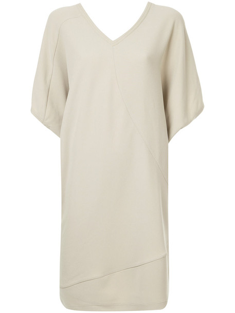 Ck Calvin Klein dress shift dress women brown