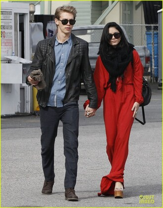 dress vanessa hudgens red red dress robe skirt