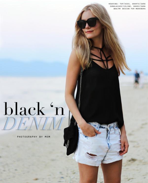 passions for fashion t-shirt shorts bag shoes sunglasses