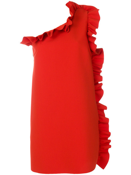 MSGM dress women spandex red