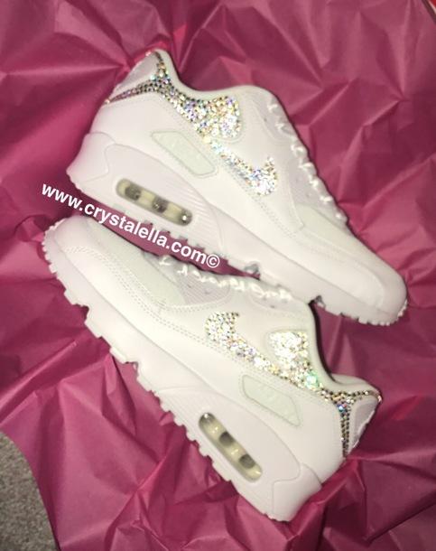 shoes swarovski nike crystal shoes nike nike sneakers custom nike air max  fitness kicks gym sparkly 4bc71797dcbb