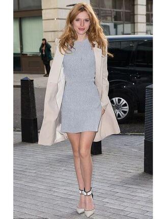 dress short dress mini dress bella thorne pumps trench coat