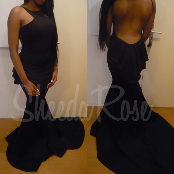 dressmaker long dress black dress evening dress dress