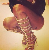 shoes,heels,heel boots,boots,gold,where can i get it