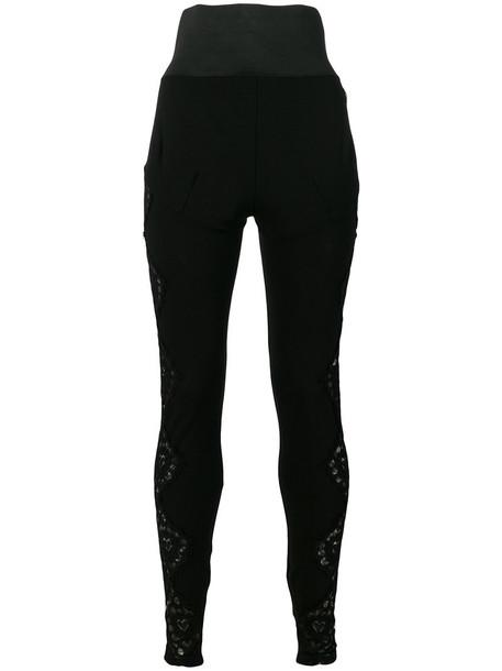 PHILIPP PLEIN women black pants