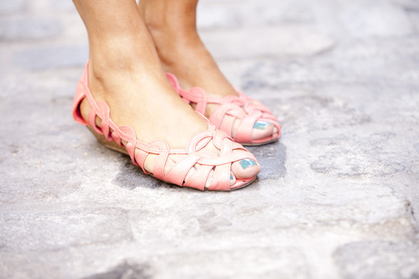 sandals mini wedges coral shoes low heels wedges flat red shoes shoes coral summer shoes classy hair accessory antlers lolita pastel harajuku