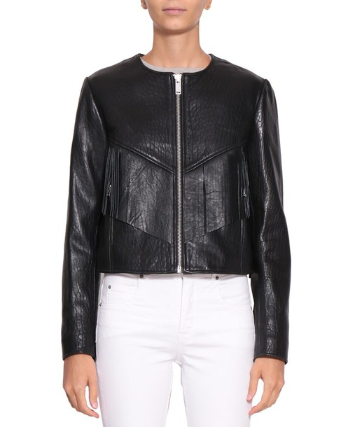 Isabel Marant etoile jacket leather jacket leather