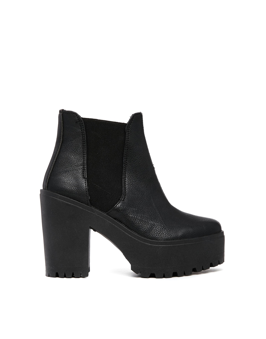 River Island Unit Chelsea Ankle Boots at asos.com