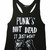 Punk's Not Dead: Pop Racor Vest – Black Score
