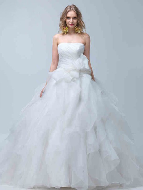 dress ウェディングドレス プリンセス ビスチェ