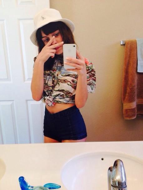 Bucket Hat Tumblr Girl Bucket Hat Outfit Tumblr