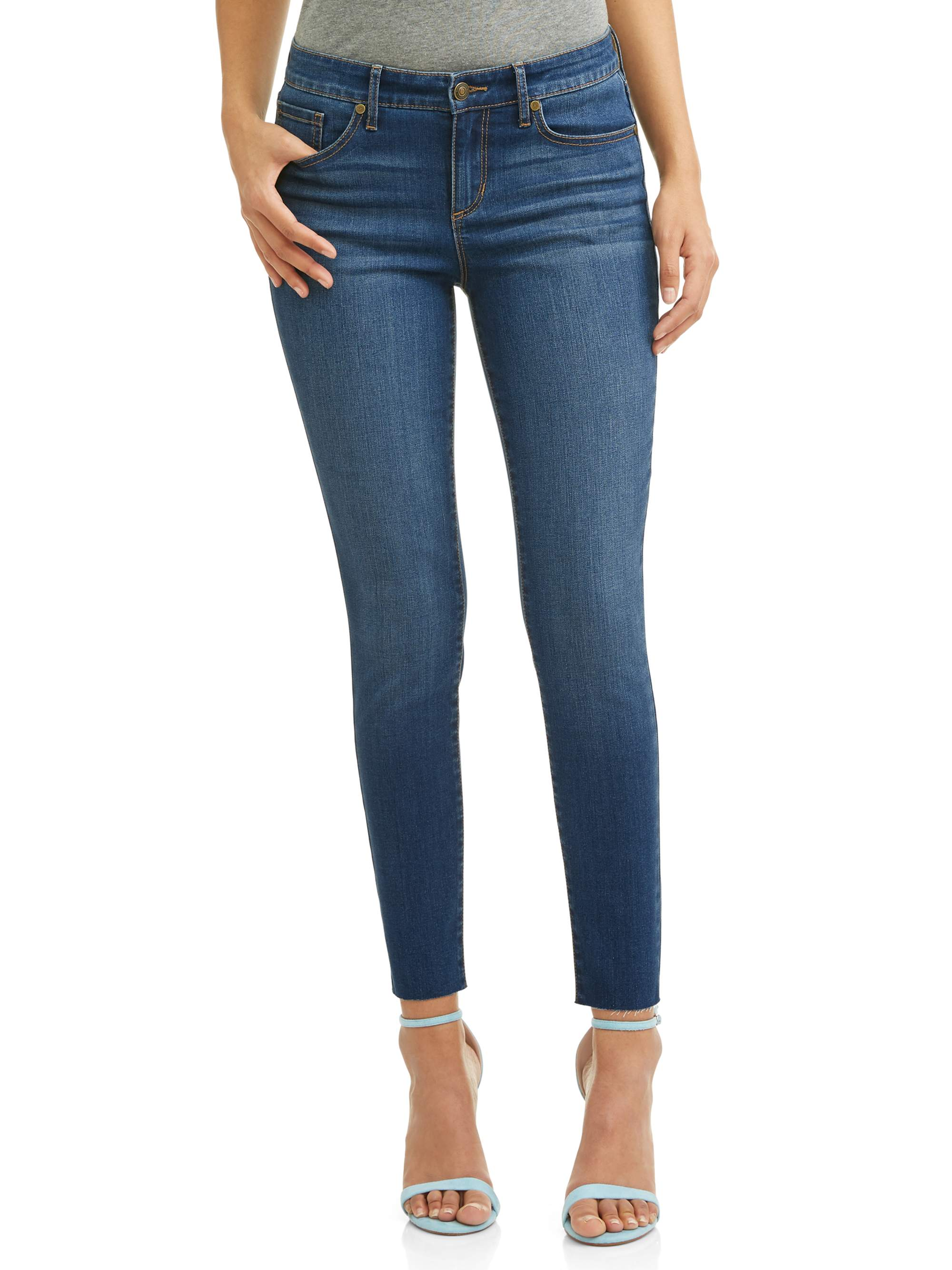 Sofia Jeans by Sofia Vergara - Sofia Jeans by Sofia Vergara Sofia Skinny Mid Rise Soft Stretch Ankle Jean Women's - Walmart.com