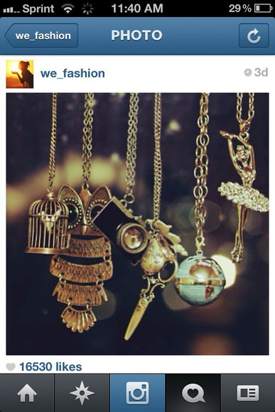 owl jewels necklace ballirena