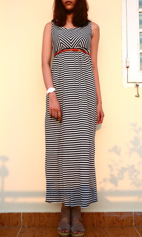 AMINA STRIPE MAXI DRESS | KOOGAL | Dresses | Women Clothing and Accessories | Online Fashion Store