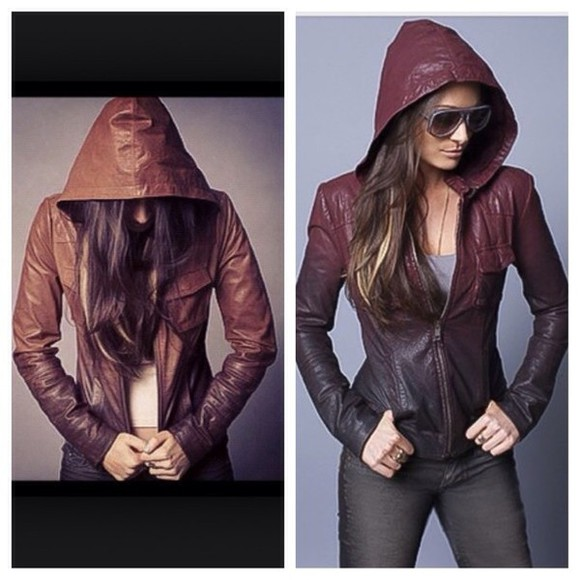 gorgeous ombre pretty leather jacket beautiful hot sexy obsessed
