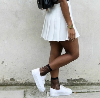 shoes white trainers platform shoes