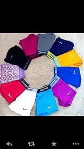 shorts,white,spandex,nike,nike spandex shorts,nike pro shorts