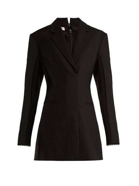 Helmut Lang dress mini dress mini wool black