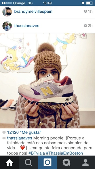 shoes new balance hipster
