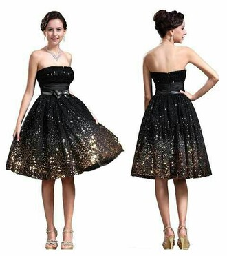 dress black gold short prom homecoming dress sparkle glitter homecoming short homecoming dress sequin dress sequin prom dress black dress short prom dress 2016 short prom dresses black prom dress 2016 homecoming dresss homecoming dress 2016 prom dress gold sequins