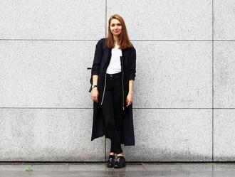 cruel thing blogger black jacket casual