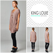 top,mocha tunic,classy,hipster,draped,drape top,style,fashion,trendy,tunic top,tunic dress,tunic
