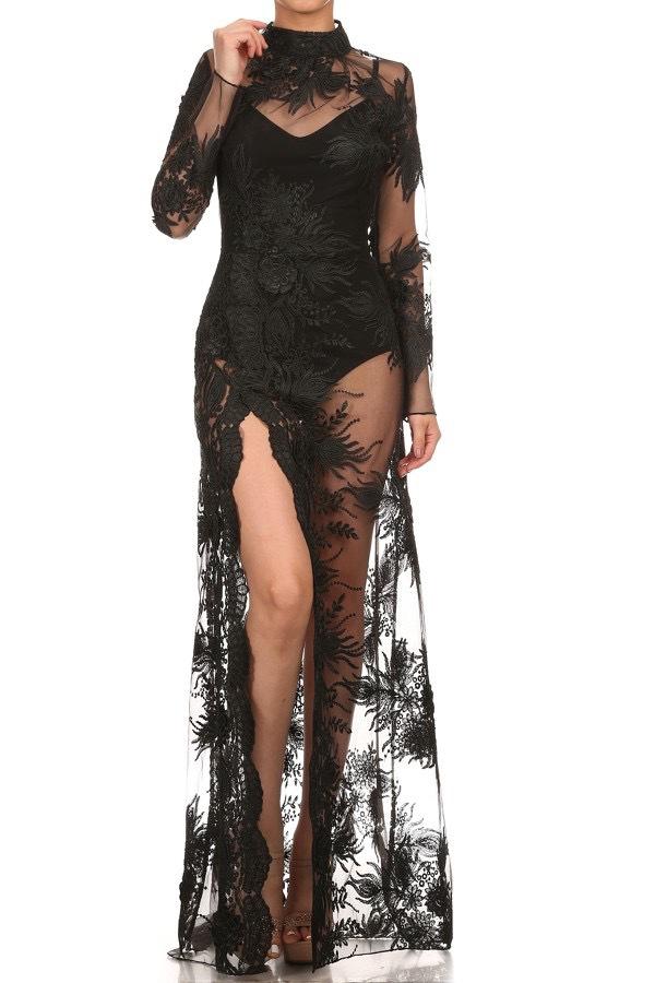 Scarlett Lace Gown
