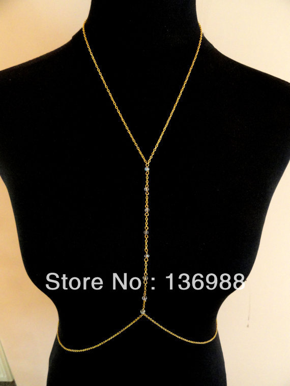 Aliexpress.com : buy rihanna prime lens body chain sexy belly chain body chain, beach jewelry, the latest crystal body chain, gold body harness, from reliable jewelry tag suppliers on blue flag people