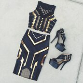 skirt,set,pattern,co-ord,midi,beauiful