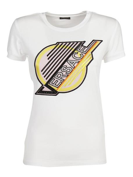VERSACE t-shirt shirt t-shirt print top