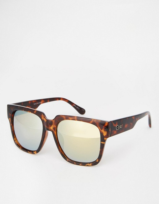 Quay Australia On the Prowl Sunglasses at asos.com